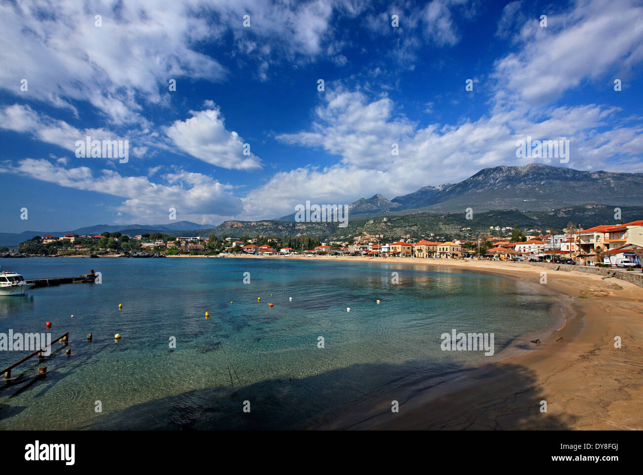 "Stoupa, A Beautiful Seaside Village In Western (""messenian"") Mani"