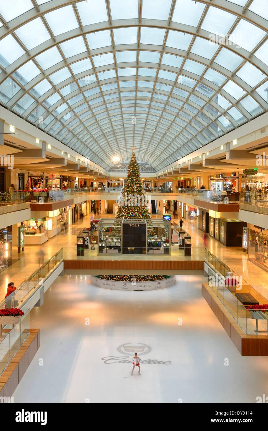 Usa United States America Texas Houston Shopping Mall