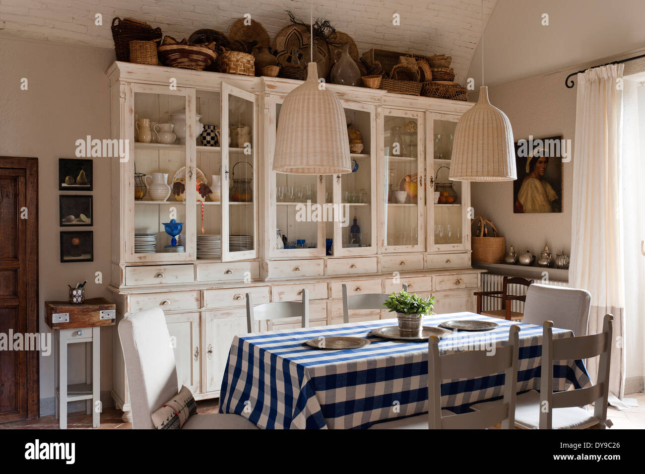 Rustic Country Kitchen With French Style Cabinets Checked
