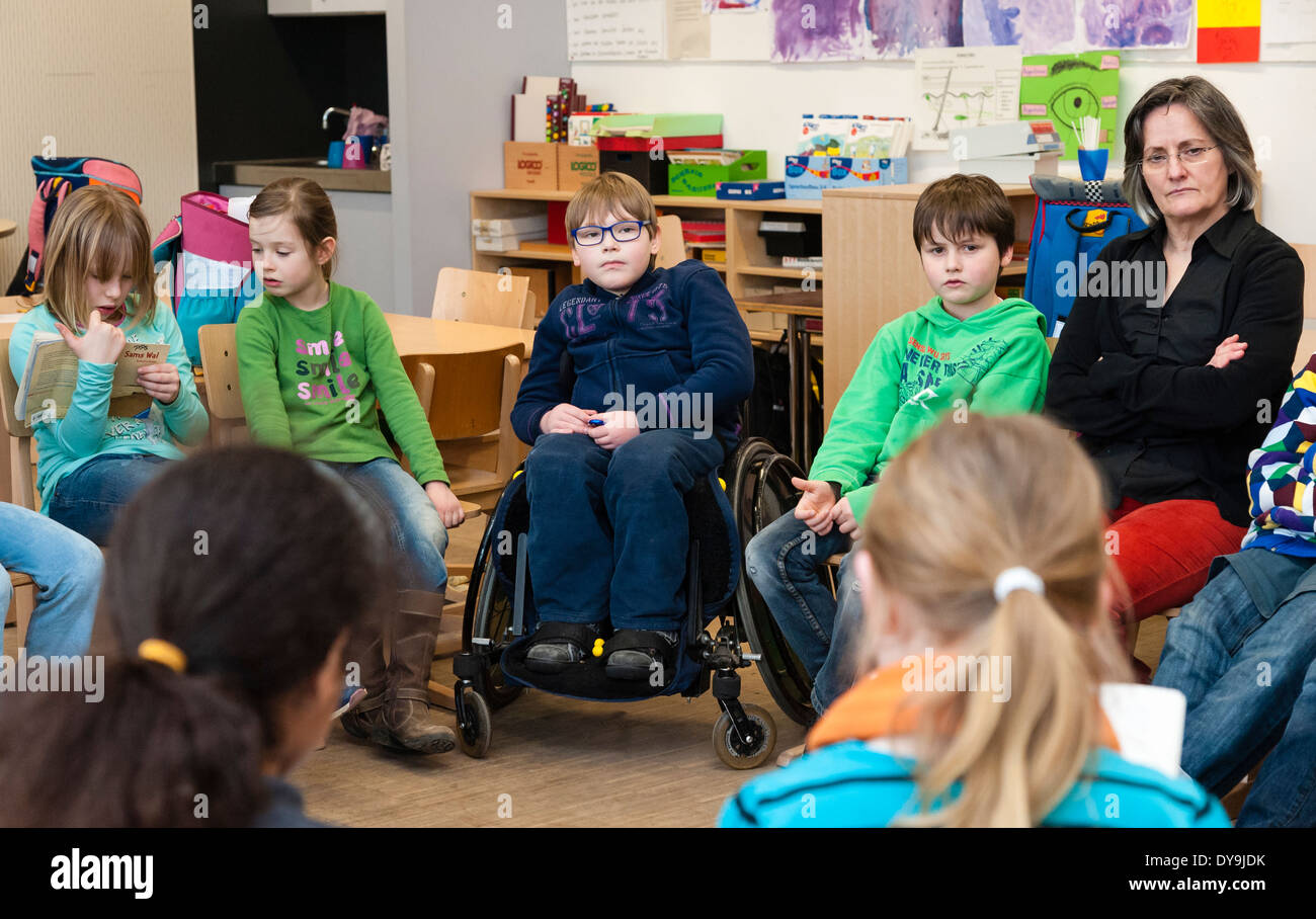 Classroom Design For Disabled Students : Non disabled and students in this case a boy