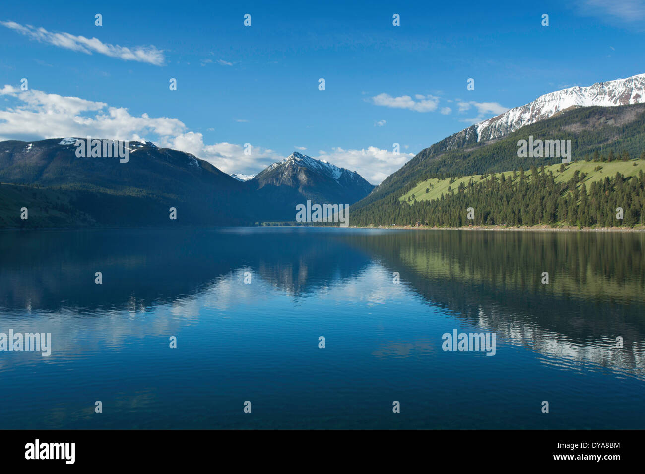 Wallowa Wallowas Oregon OR USA America United States Water - United states mountains