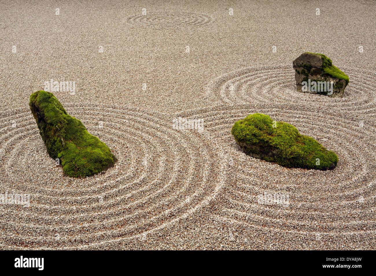 Portland japanese garden garden japanese garden winter for Japanese sand garden
