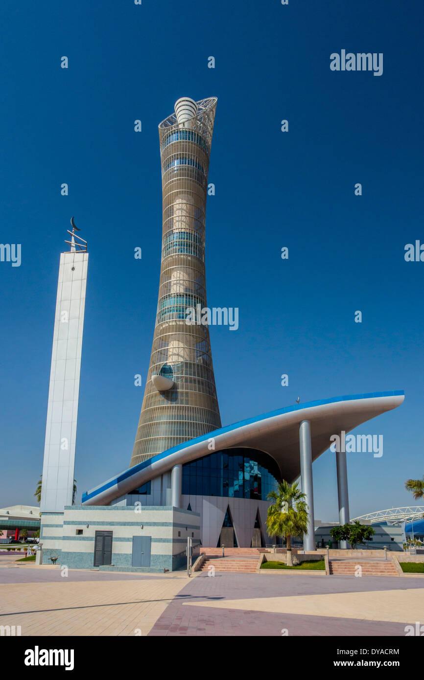 Aspire Doha Khalifa Qatar Middle East architecture city ...