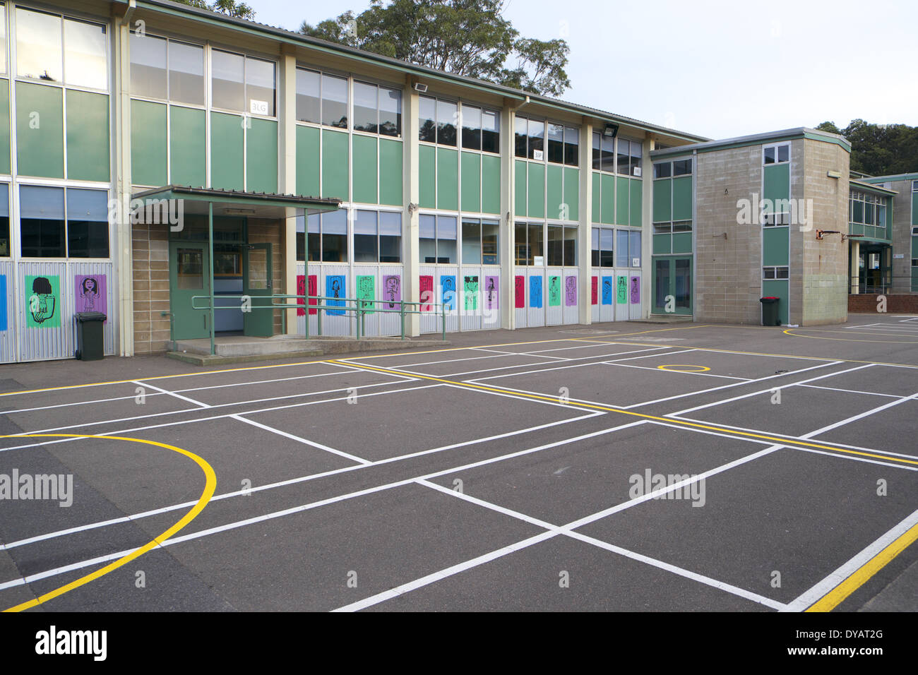 Sydney Primary School Buildings And Playground Stock Photo Royalty Free Image 68465224 Alamy