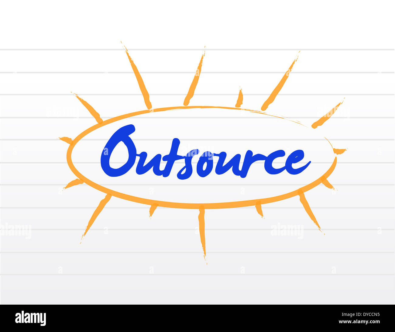 concept of outsourcing Concept of outsourcing: outsourcing is an effective cost-saving strategy when used properly it is sometimes more affordable to purchase a good from companies with comparative advantages than it is to produce the good internally.