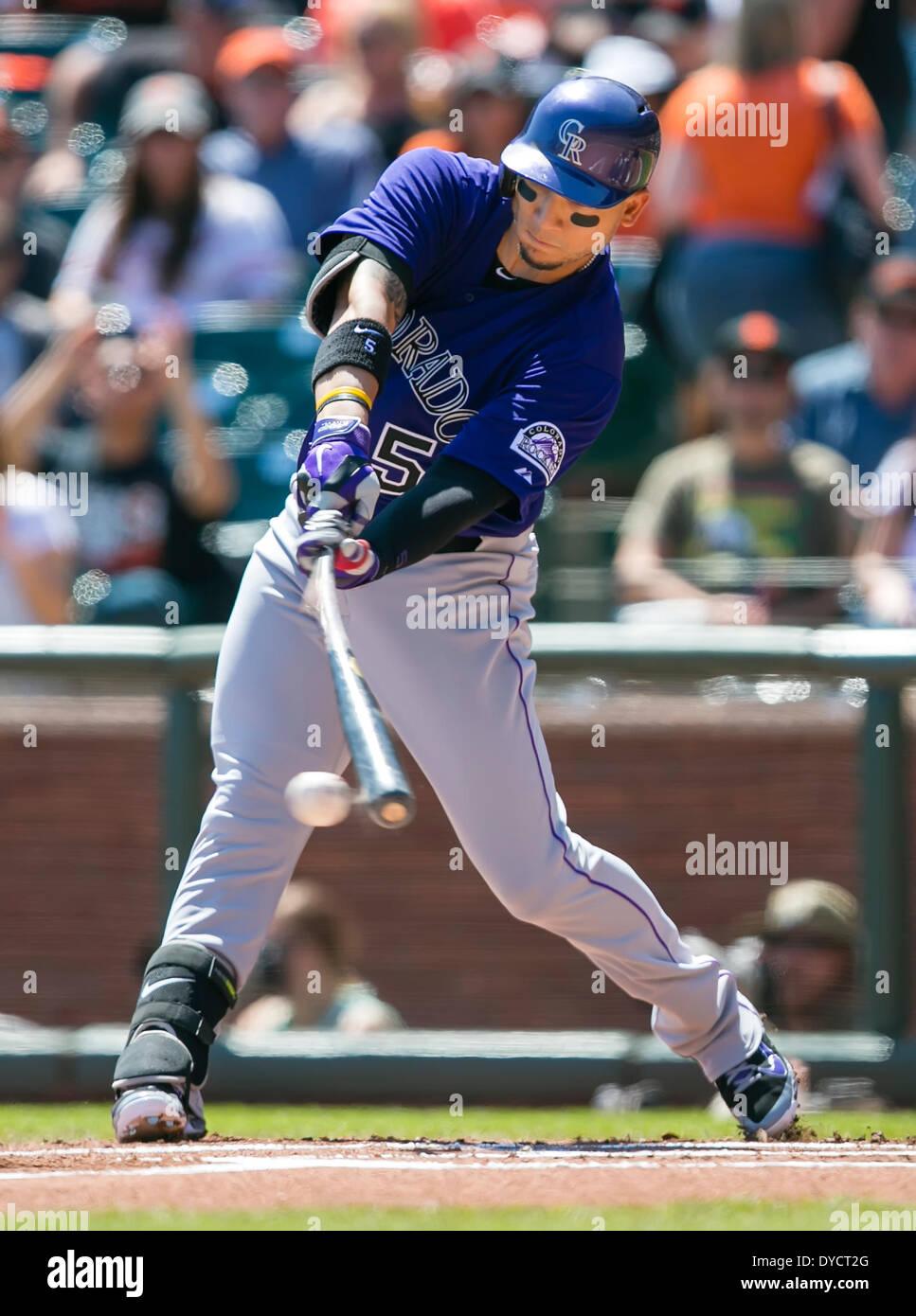 Carlos Gonzalez Rockies Batting