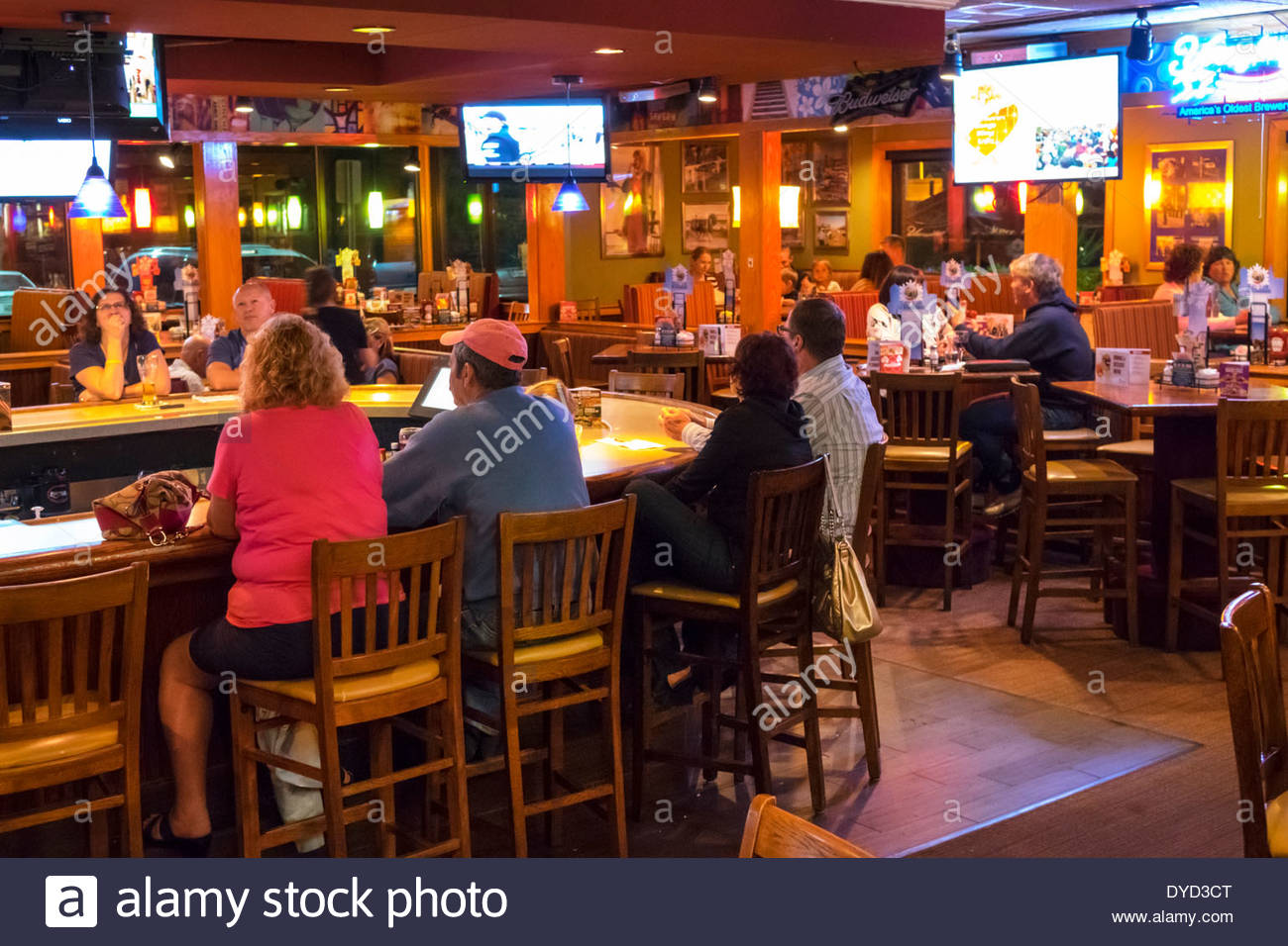 port charlotte florida applebee's restaurant inside interior bar