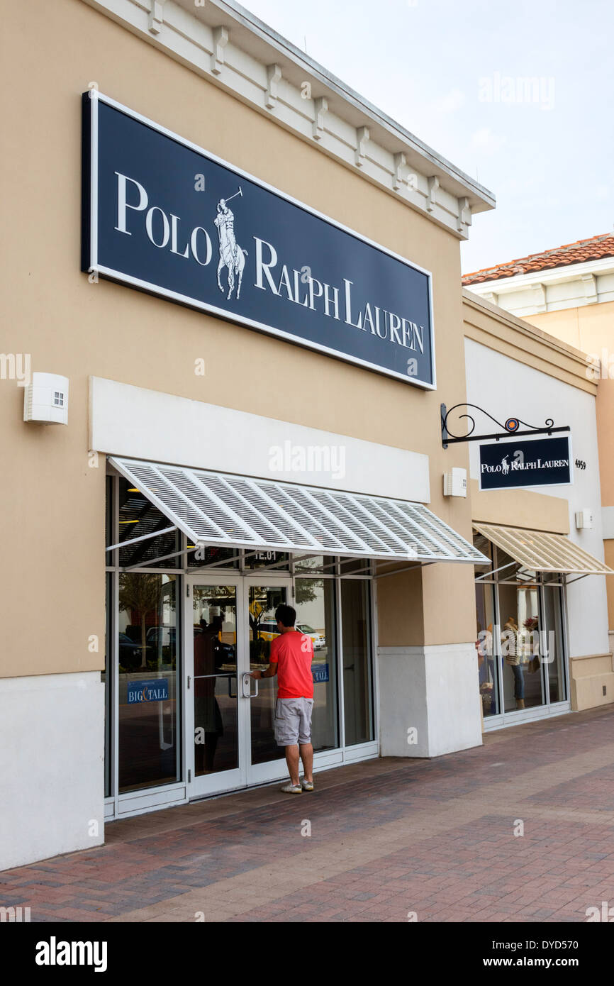Designer Outlets in Orlando Lake Buena Vista Factory Stores. You'll find designer names in 50 village-style shops at this outlet, which is just 1 mile from Walt Disney World Resort.