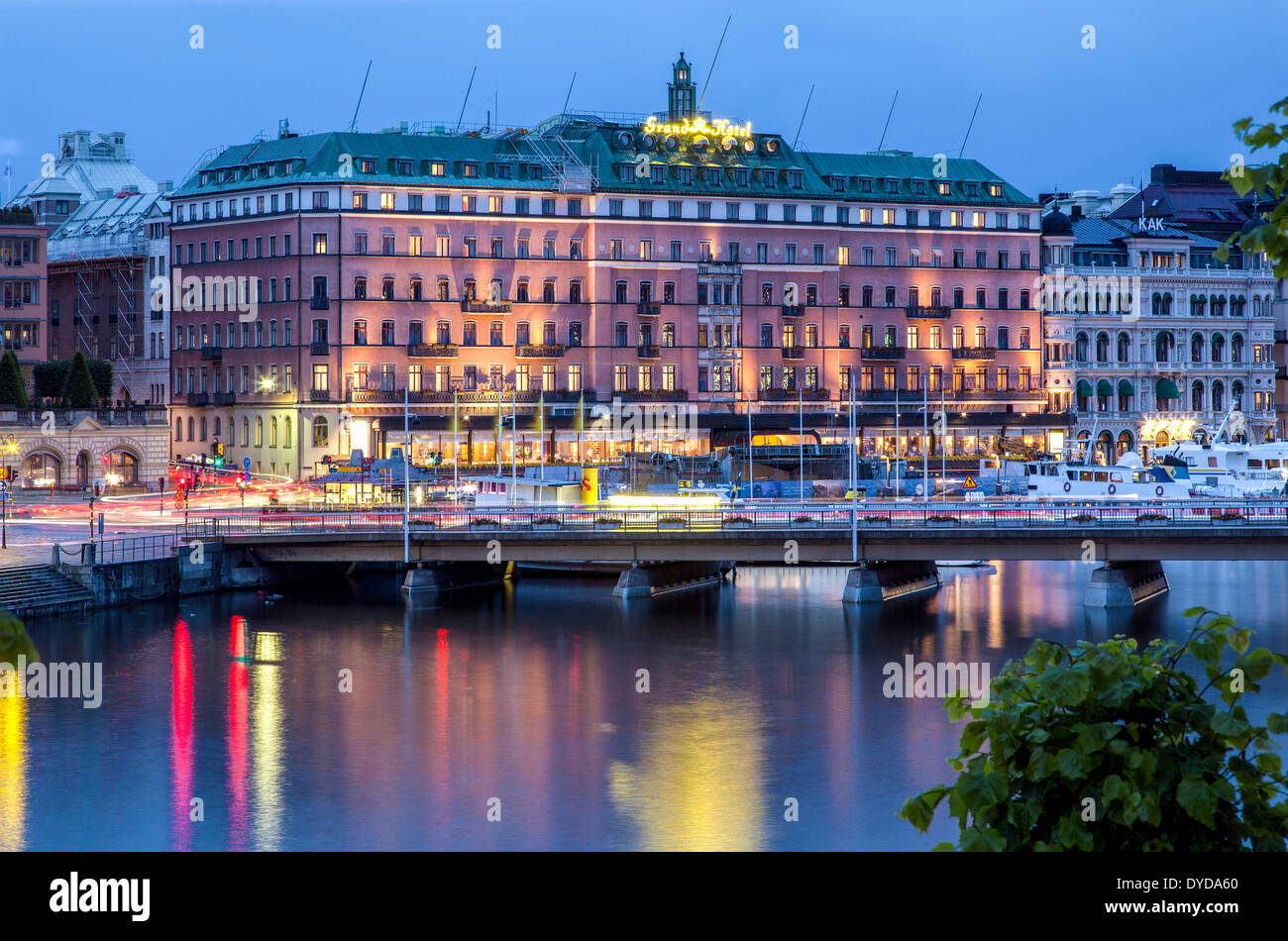 grand hotel s dra blasieholmshamnen stockholm stockholms l n or stock photo 68520200 alamy. Black Bedroom Furniture Sets. Home Design Ideas