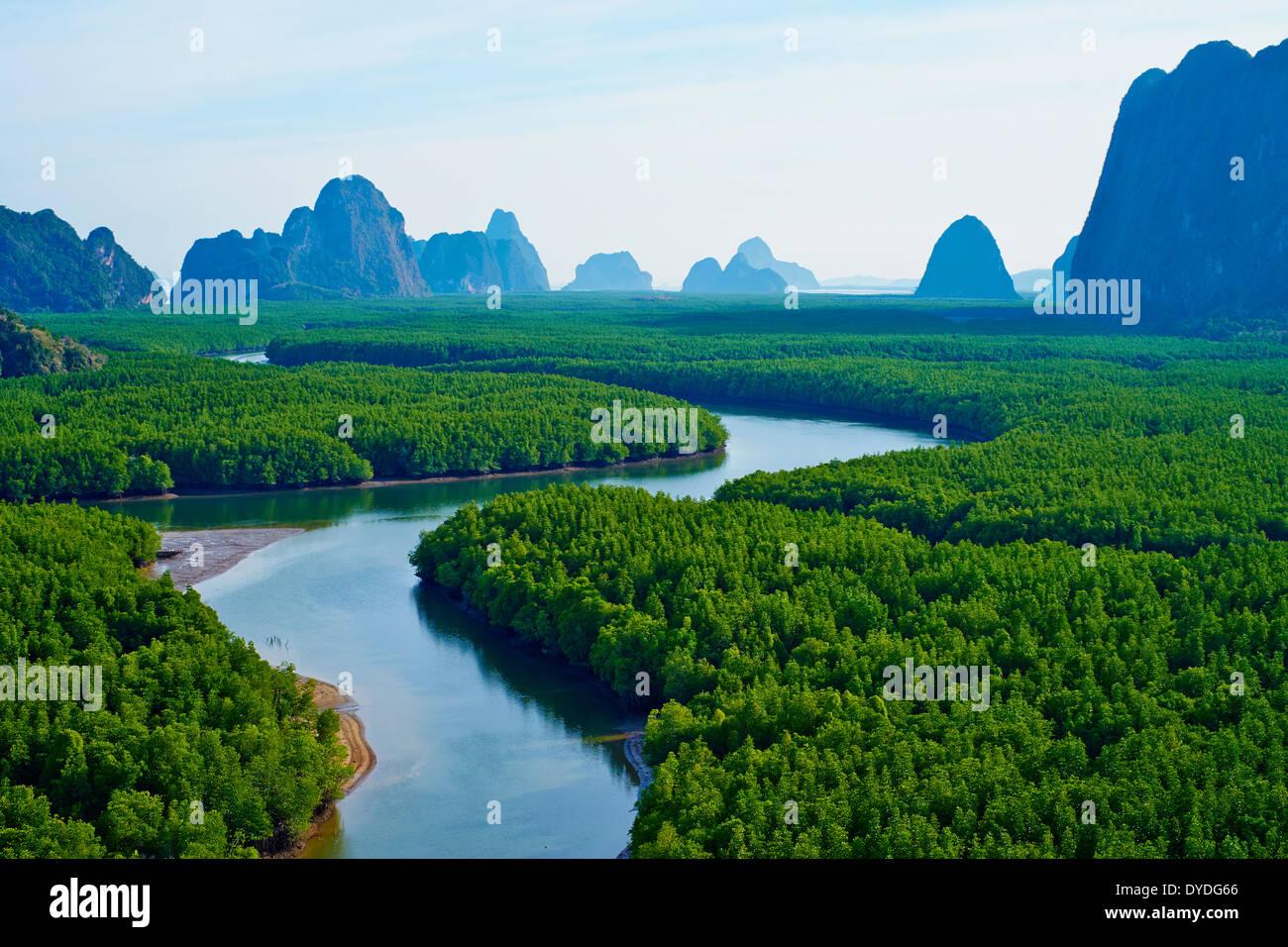 Thailand, Phang Nga Bay, Ao Phang Nga National Park Stock ...