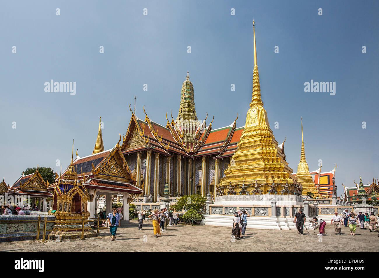 Thailand asia bangkok royal palace wat phra kaew for Bangkok architecture