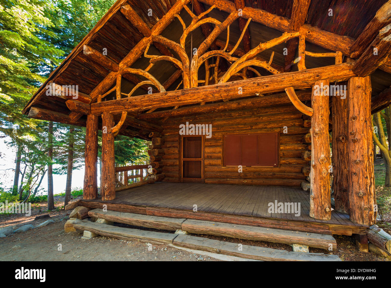 Log cabin at tallac historic site lake tahoe california for Historical sites in the usa