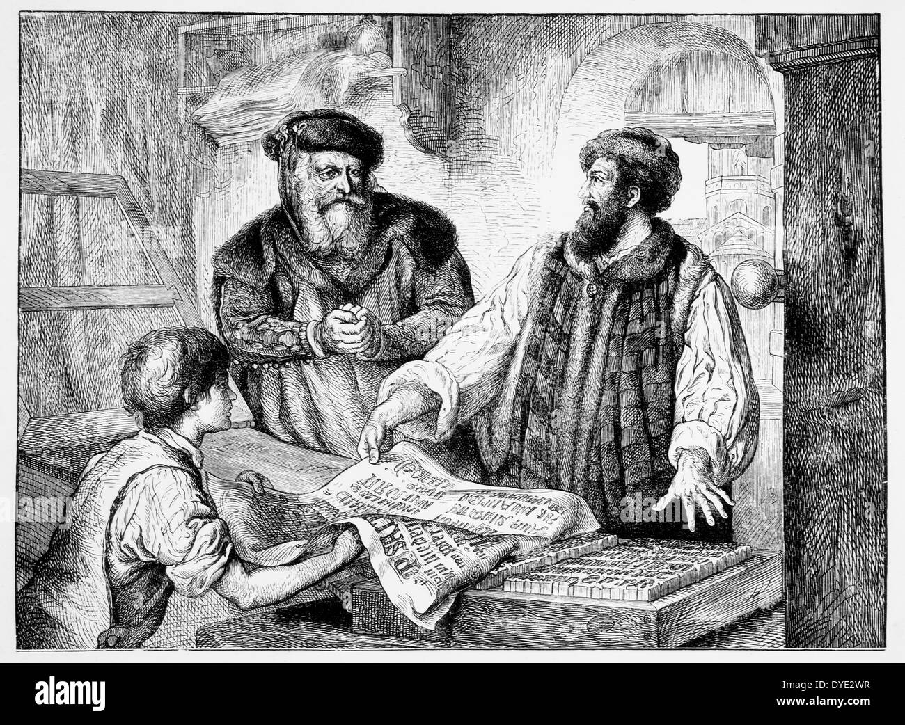 johannes gutenberg and the printing press essay Free essay on johann gutenberg and the invention of the printing press available totally free at echeatcom, the largest free essay community.