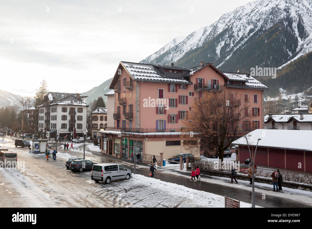 Assez Chamonix Mont Blanc Stock Photos & Chamonix Mont Blanc Stock  GC11