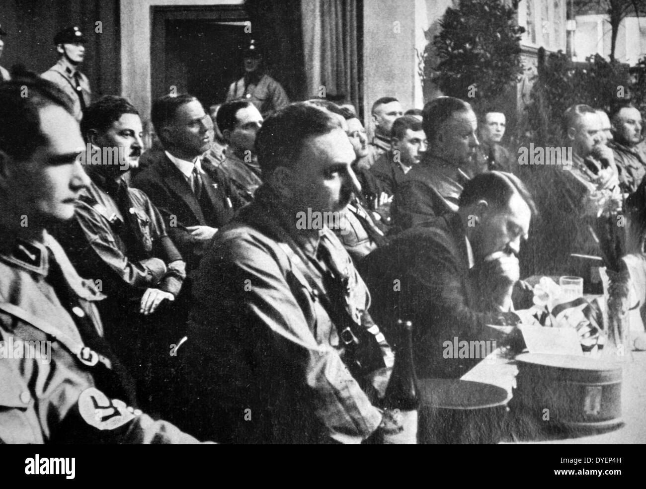 a history of the rise and fall of adolf hitler a nazi leader Hitler and the rise of national socialism  as leader of the nsdap, adolf hitler reorganized the party and encouraged the  nazi groups sprang up in other.
