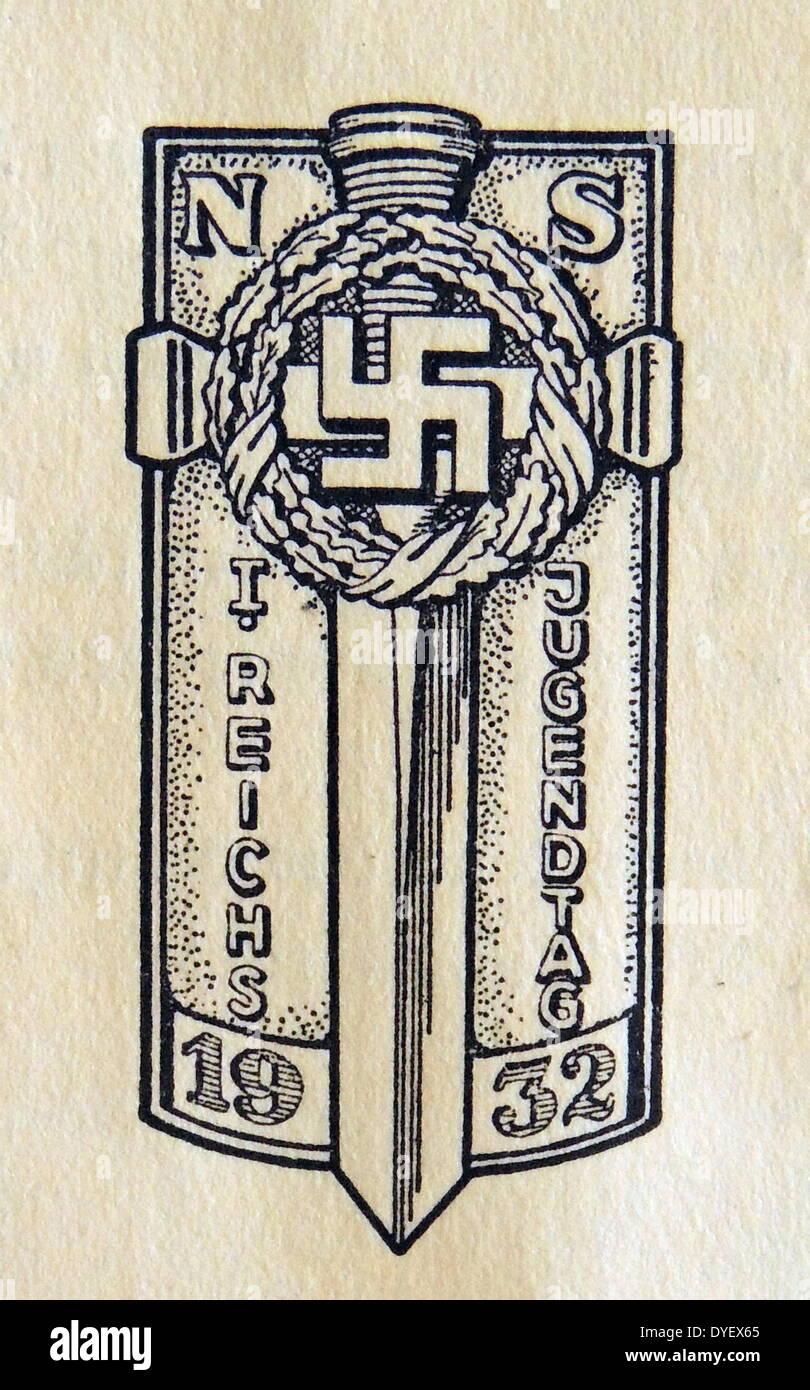 Nazi youth day symbol 1932 stock photo 68554701 alamy nazi youth day symbol 1932 biocorpaavc Images