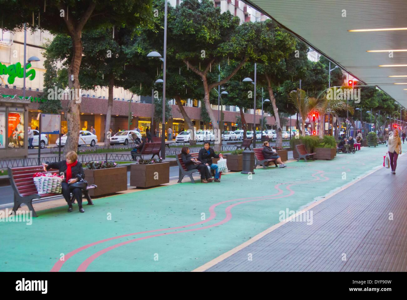 Avenida de mesa y lopez main street las palmas de gran for El corte ingles mesa y lopez