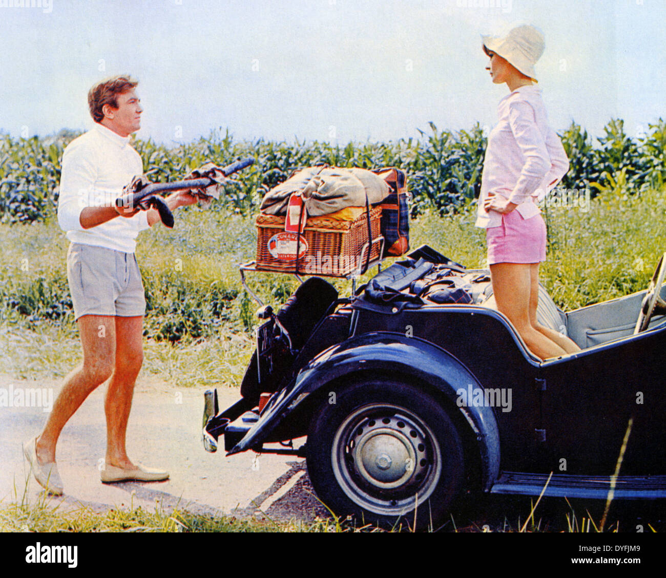 TWO FOR THE ROAD 1967 Stanley Donen film with Audrey ...