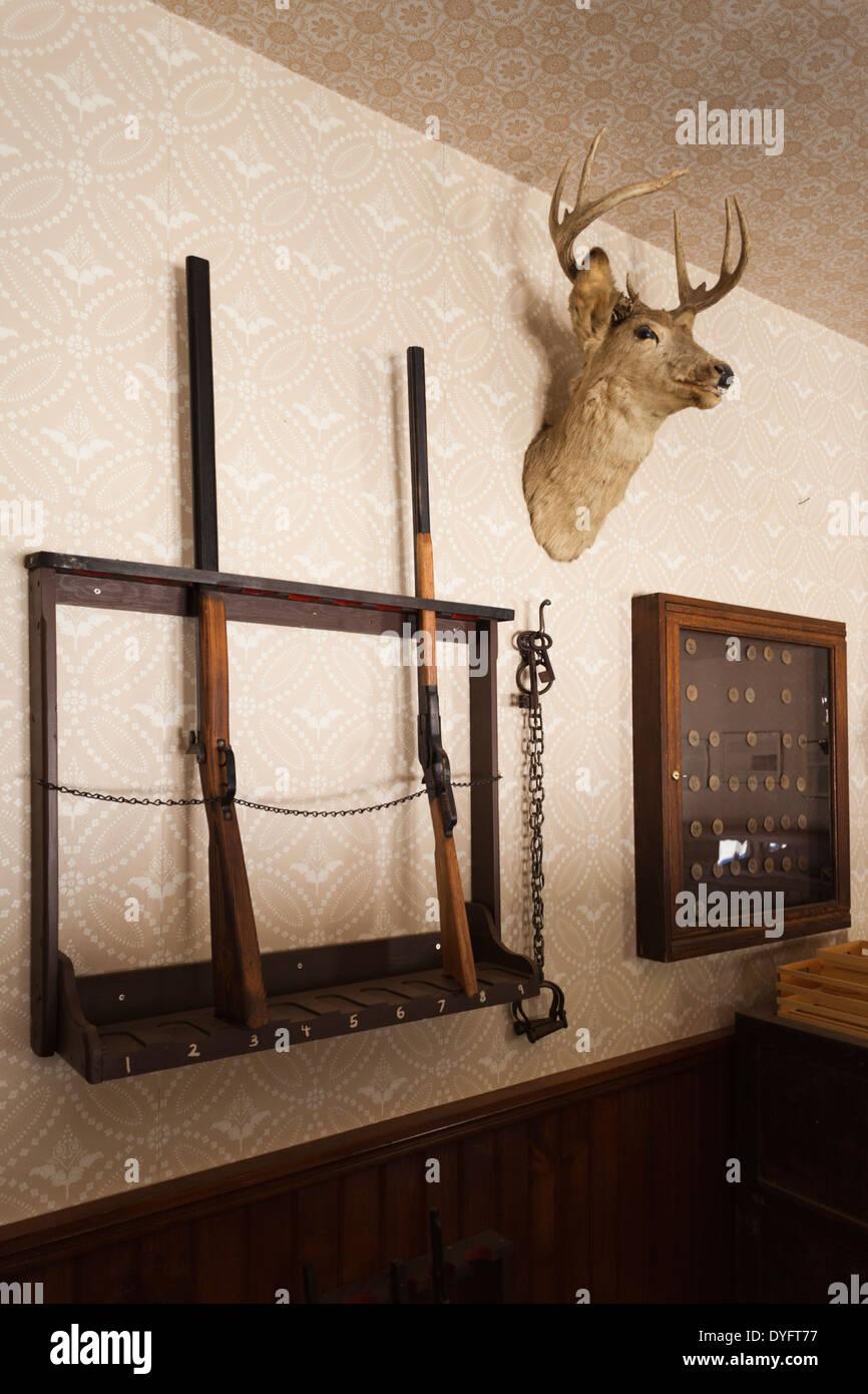 USA Kansas Wichita Old Cowtown Museum Village From - Gun museums in usa