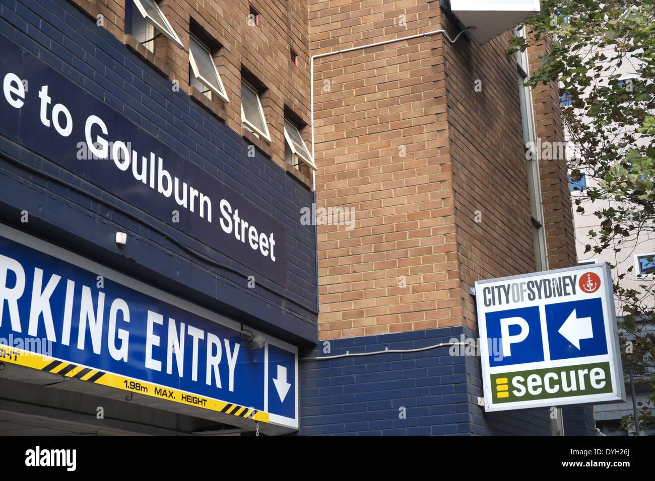 Goulburn Street Car Park