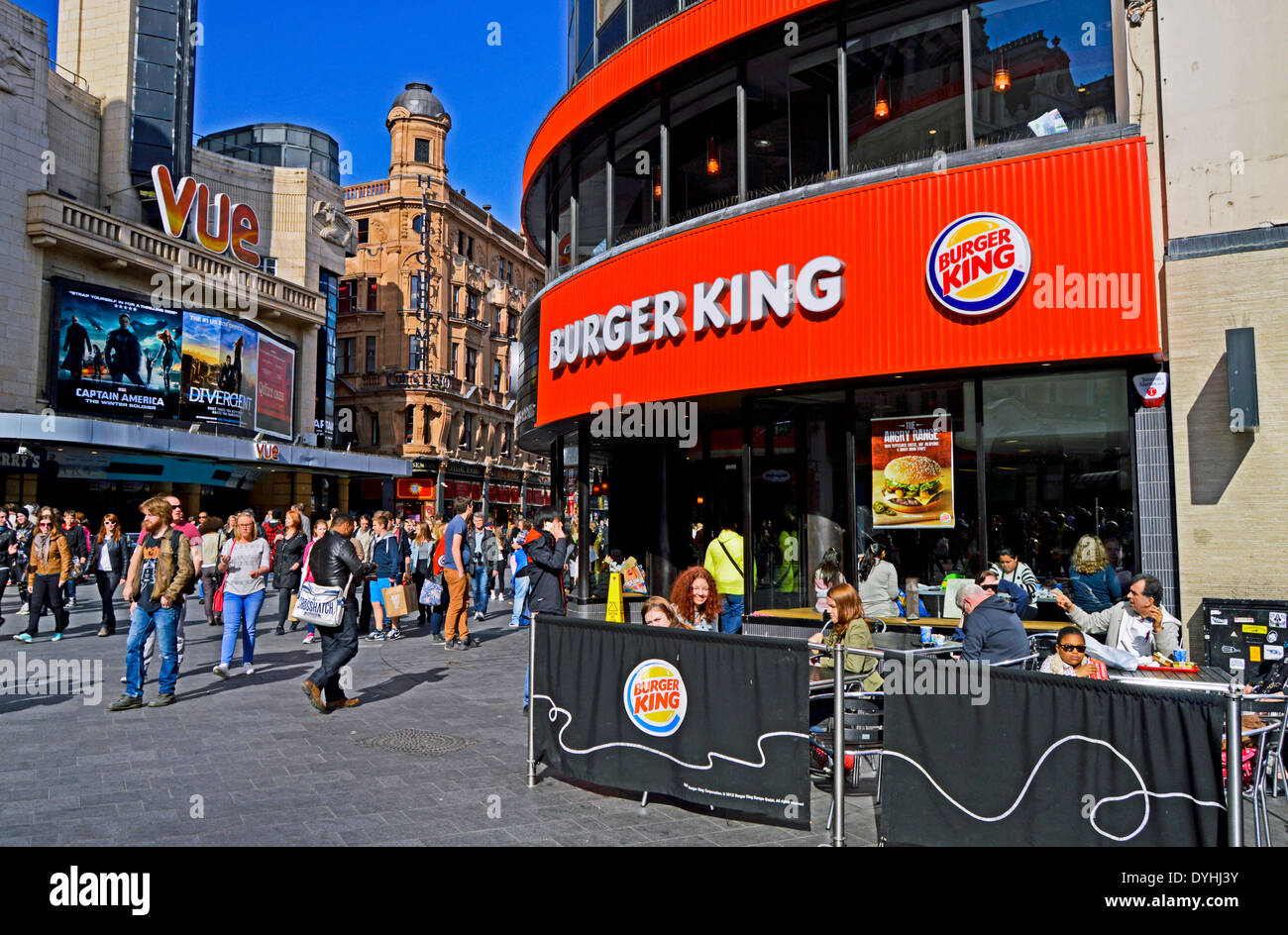 Street Food Leicester Square