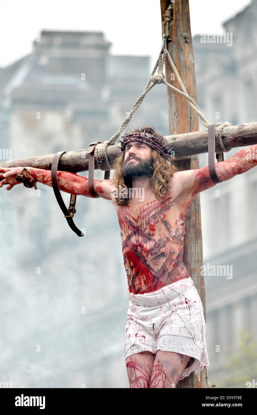 the crucifixion and resurrection u0027son of god u0027 the passion of