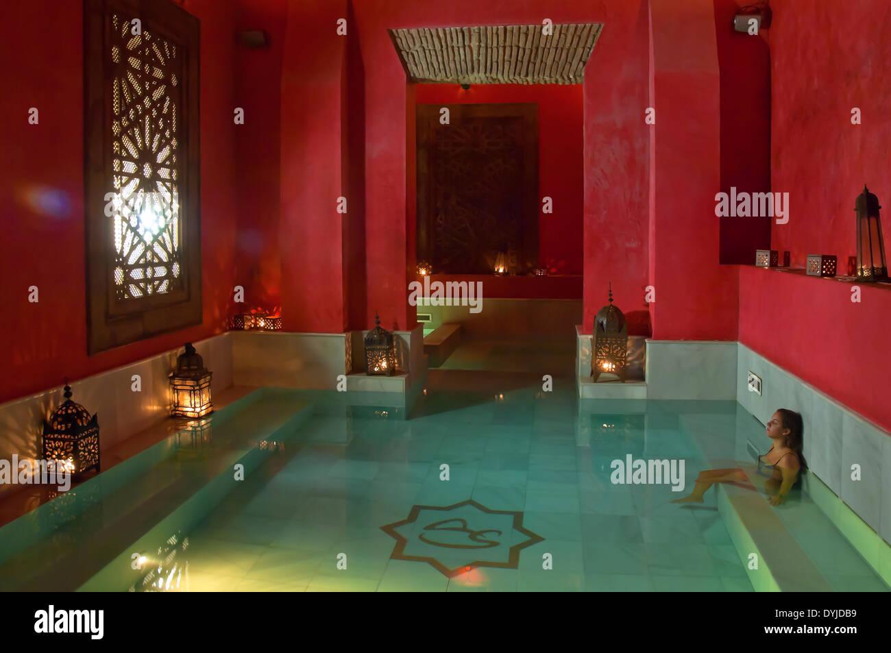Arab baths  Hammam  Aire de Sevilla  Seville  Region of Andalusia   Spain    EuropeArab baths  Hammam  Aire de Sevilla  Seville  Region of Andalusia  . Aire Baths Spain. Home Design Ideas