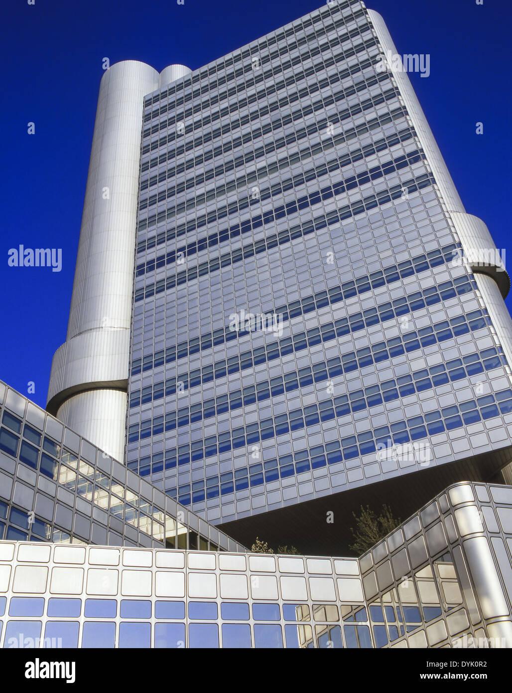 Modern Architecture Europe moderne architektur hypobank münchen bayern deutschland europa