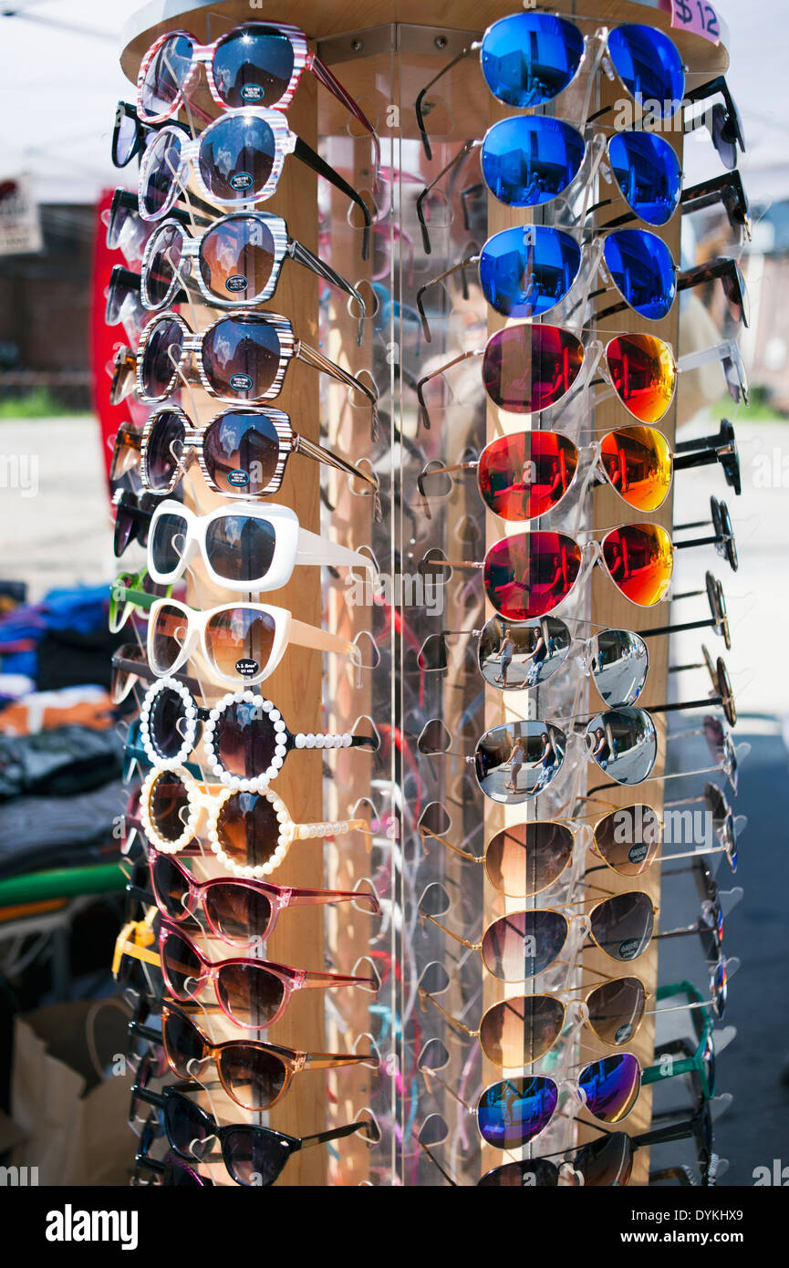 cheap sunglasses for sale  Cheap Sunglasses on a circular spinning display stand for sale ...
