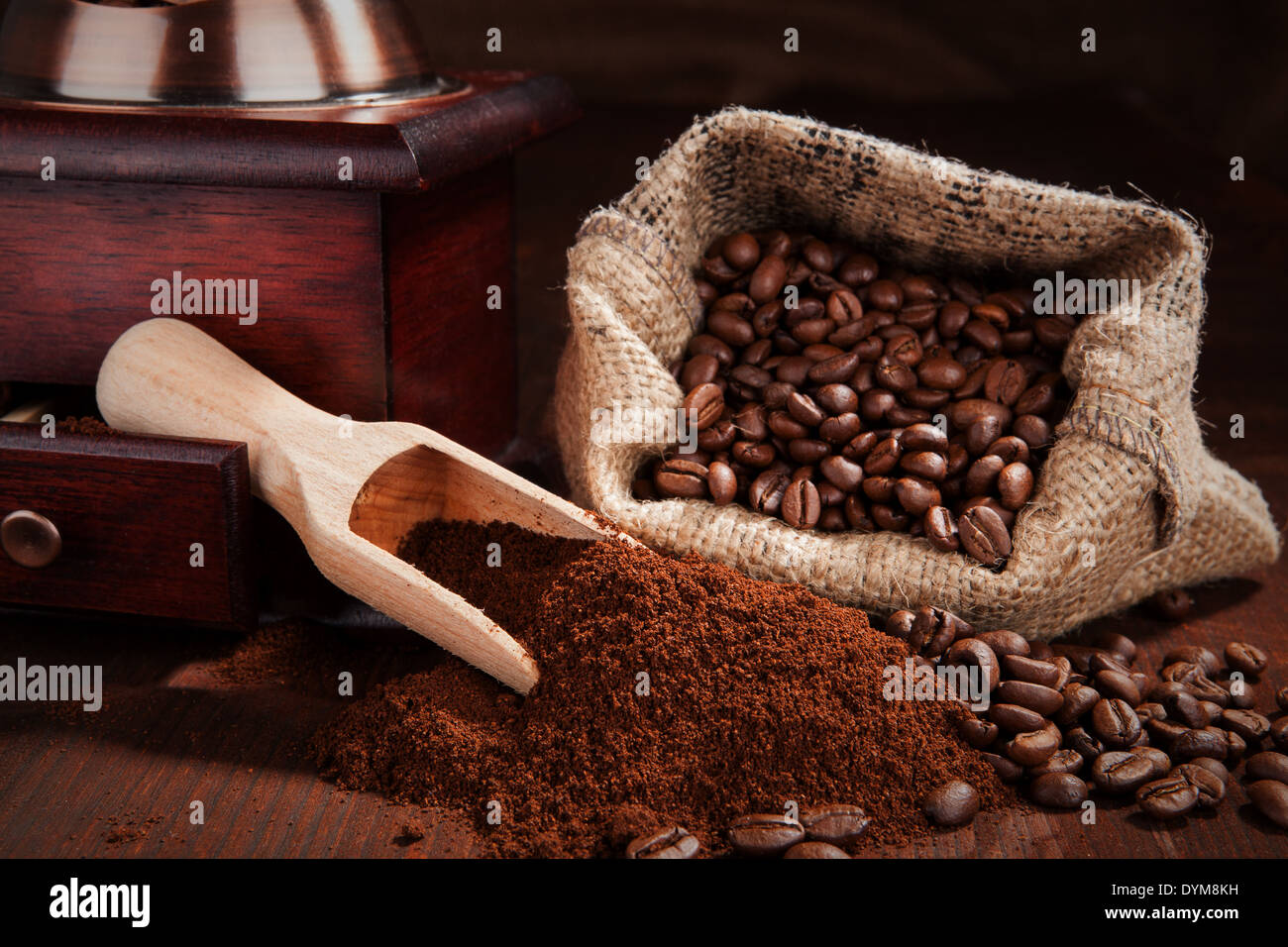 ground coffee stock photo - photo #1