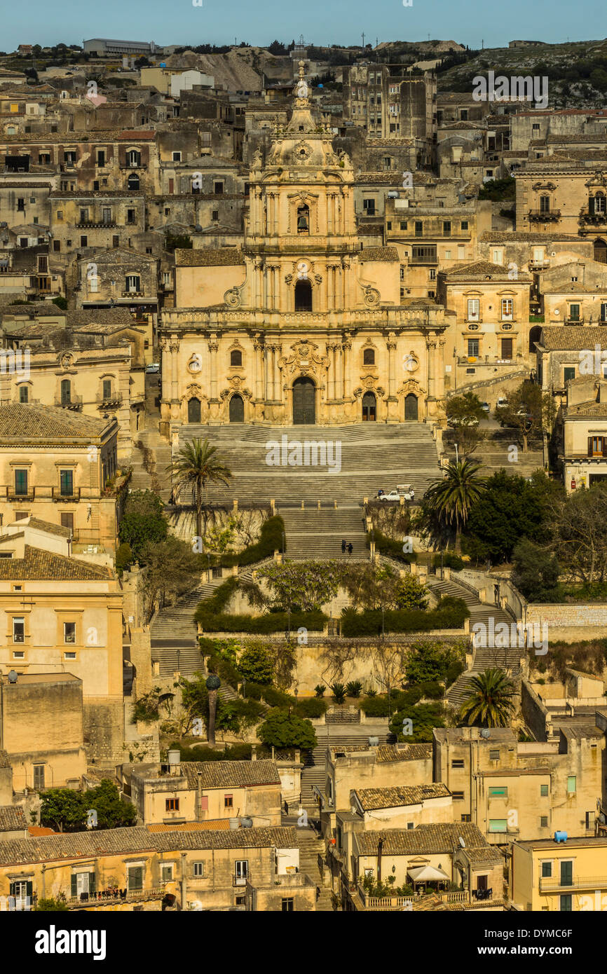 duomo san giorgio at this world heritage town, famed for sicilian