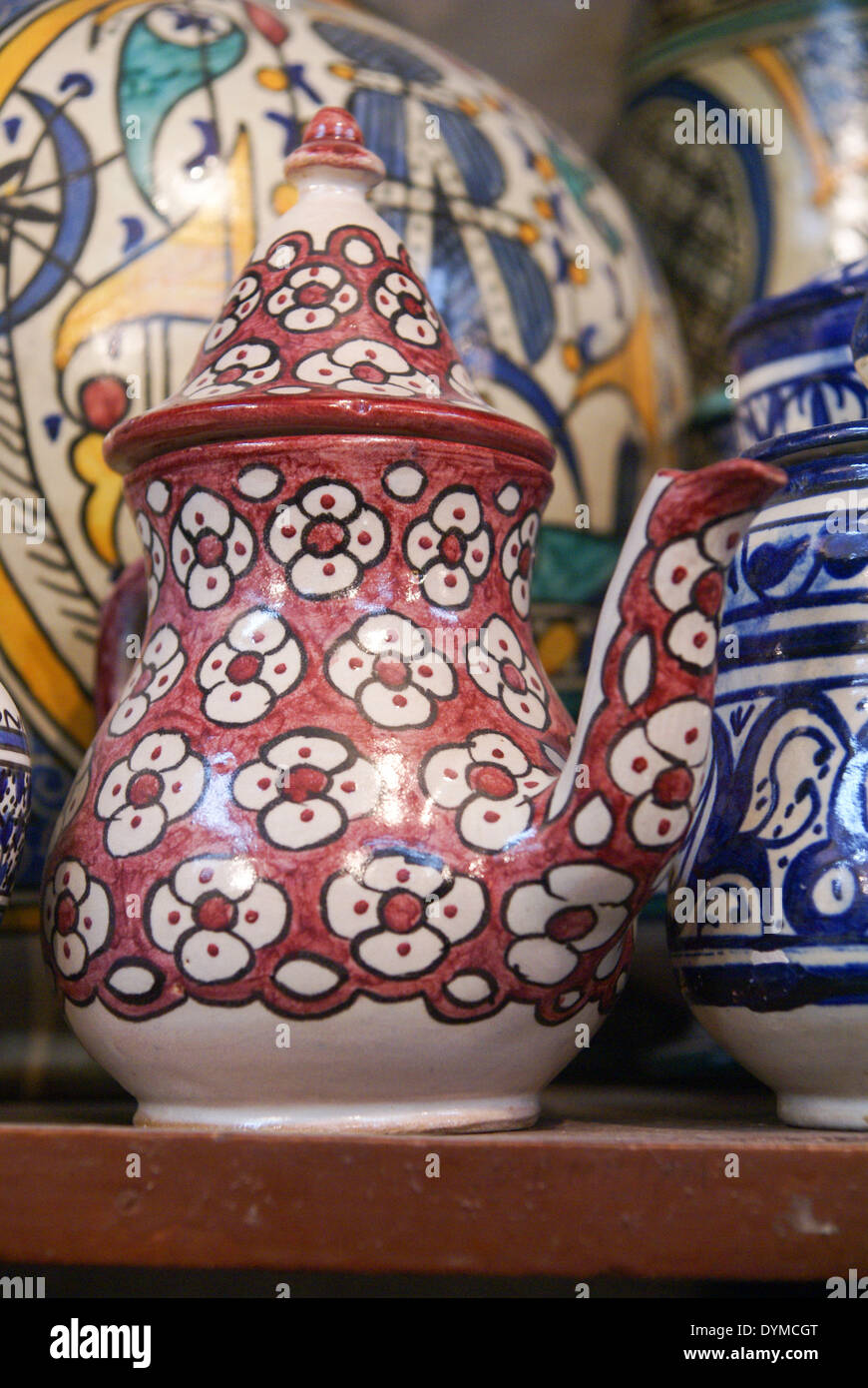 Moroccan pottery stock photos moroccan pottery stock images alamy moroccan ceramics photographed in fes morocco stock image reviewsmspy