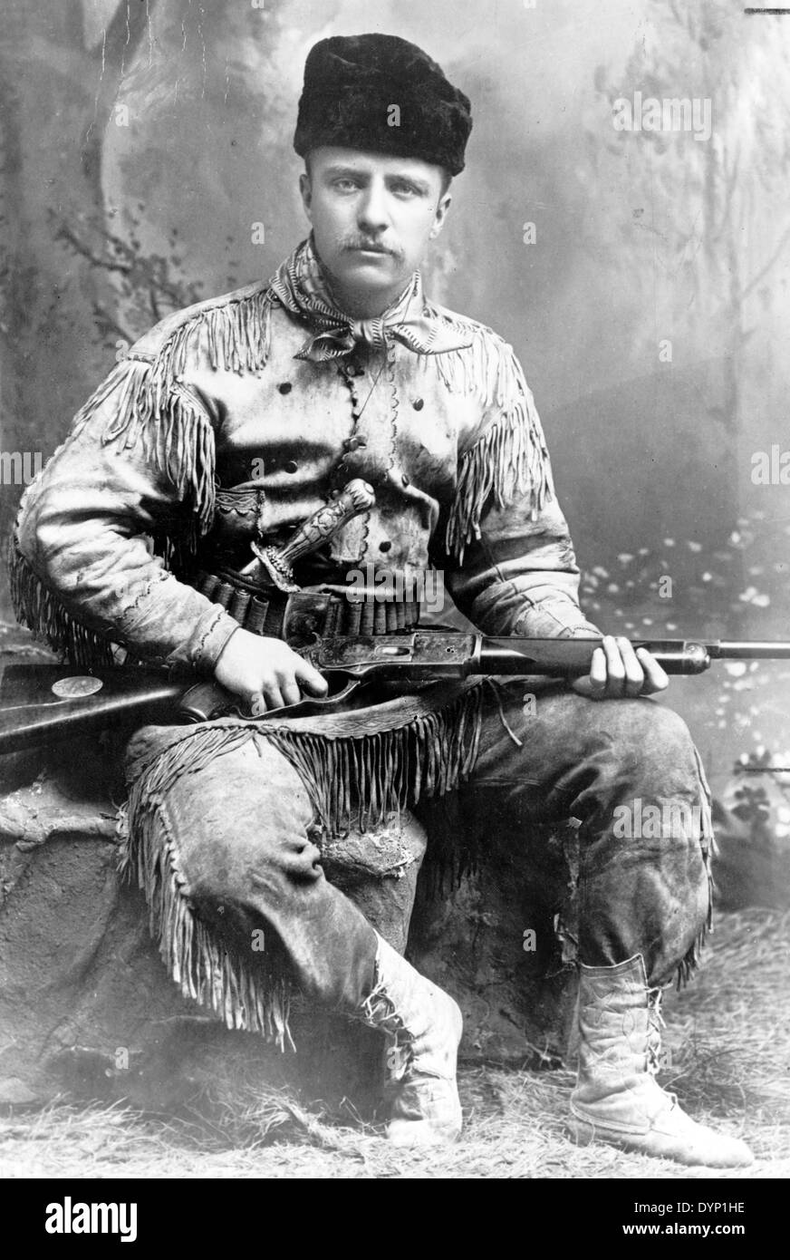 Theodore Roosevelt, 26th President of the United States