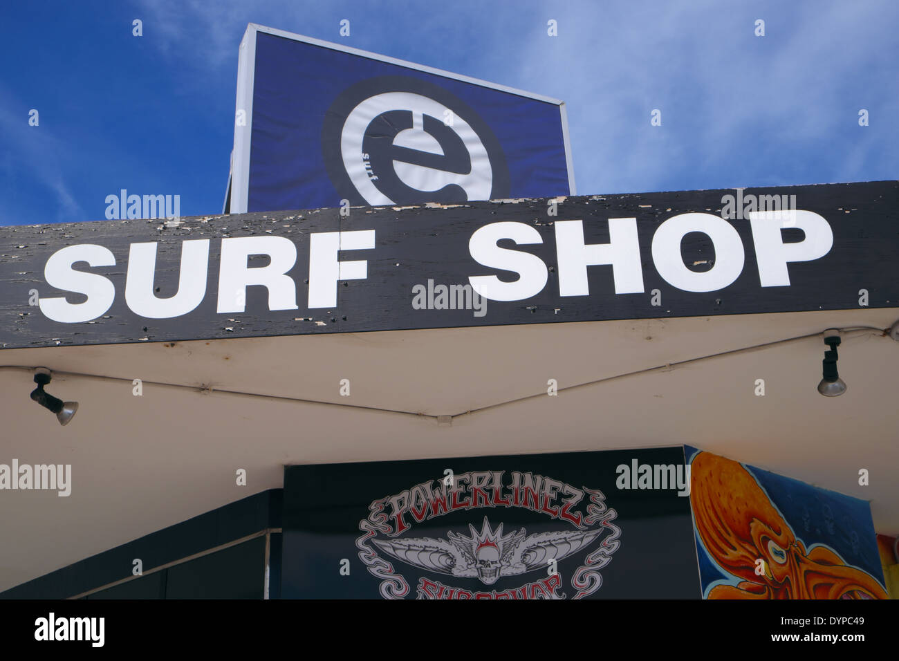 Stock Photo Surf Shop Store In Narrabeen On Sydneys Northern Beaches