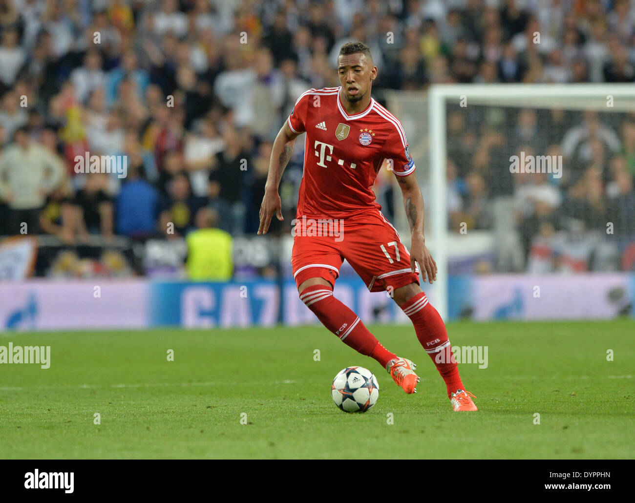 Munich s Jerome Boateng in action during the UEFA Champions League