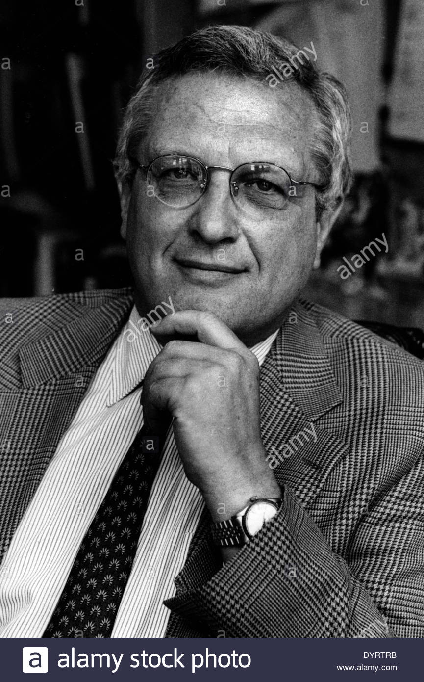 <b>Josef Joffe</b>, 1998 Stock Photo - josef-joffe-1998-DYRTRB