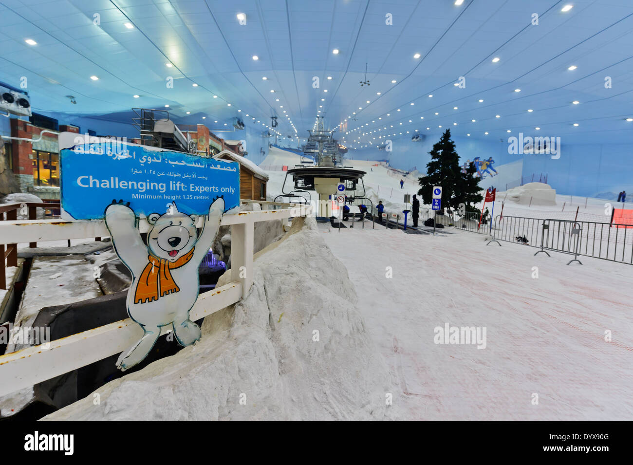 Ski Dubai Indoor Resort In The Mall Of Emirates United Arab UAE
