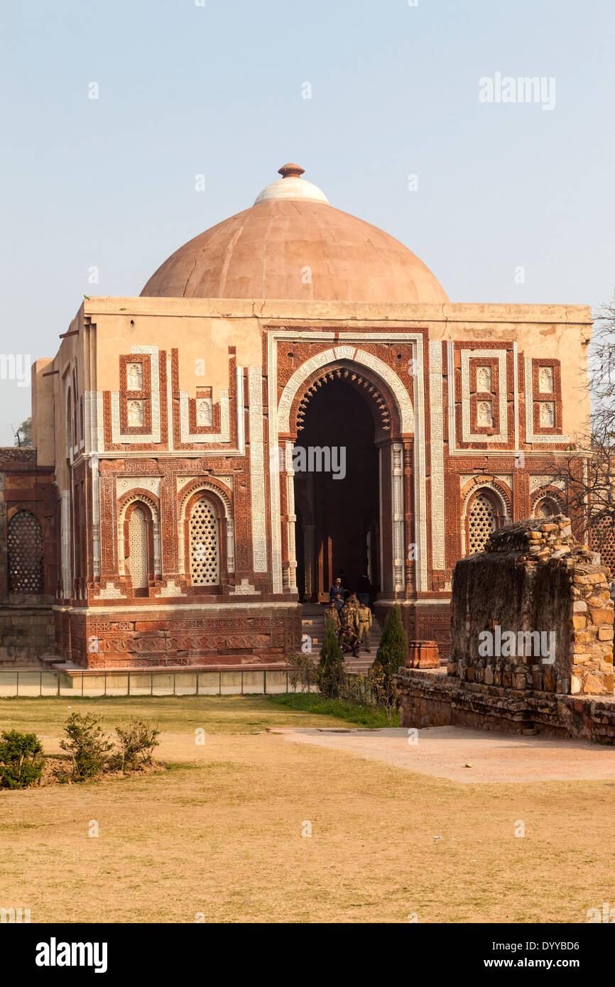 New Delhi, India. Alai... Quwwat Ul Islam Mosque