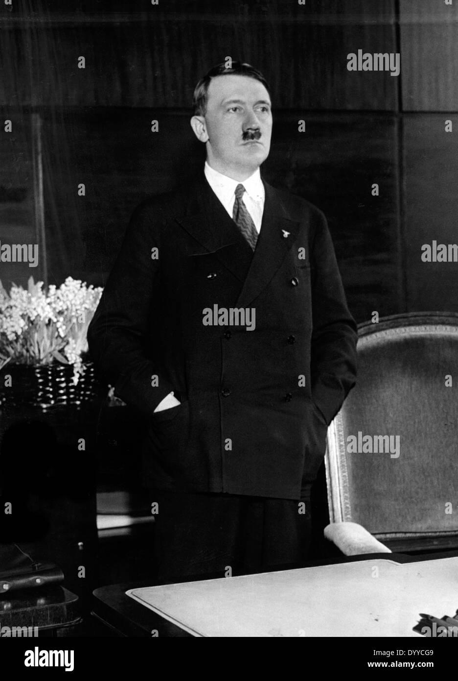 Reich Chancellor Adolf Hitler, 1933 Stock Photo, Royalty ...