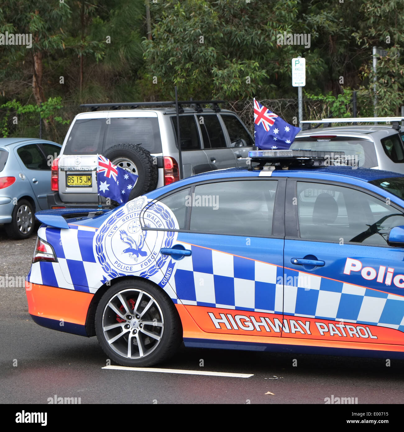 Palm Bay Ford >> New south wales police car in palm beach,sydney,australia Stock Photo, Royalty Free Image ...