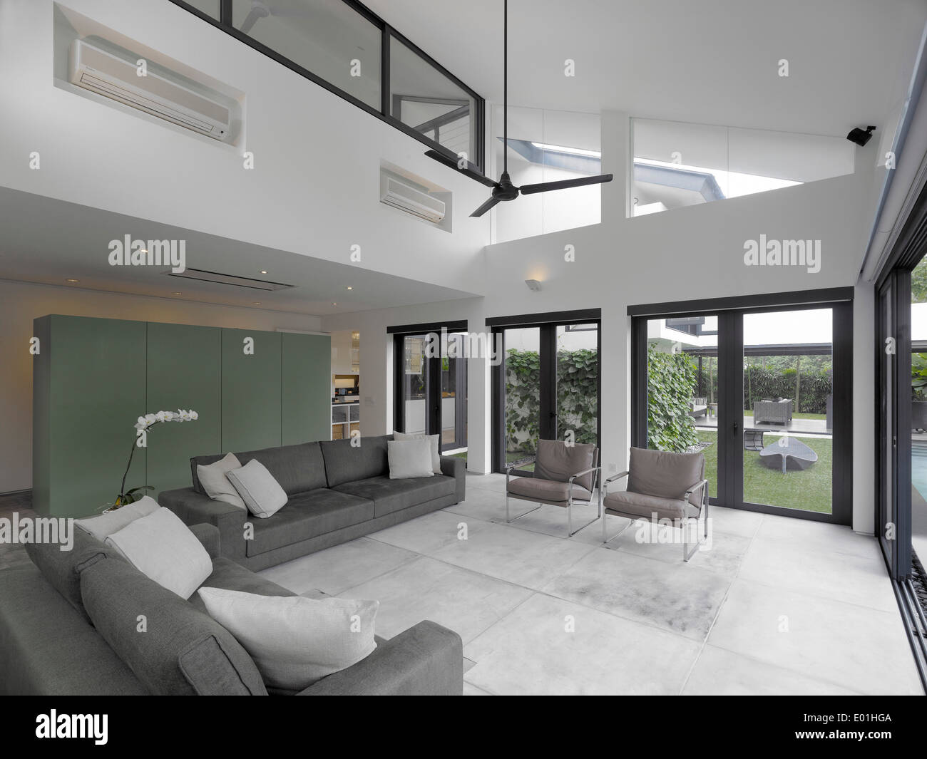 Double height living room living room for Double height living room designs