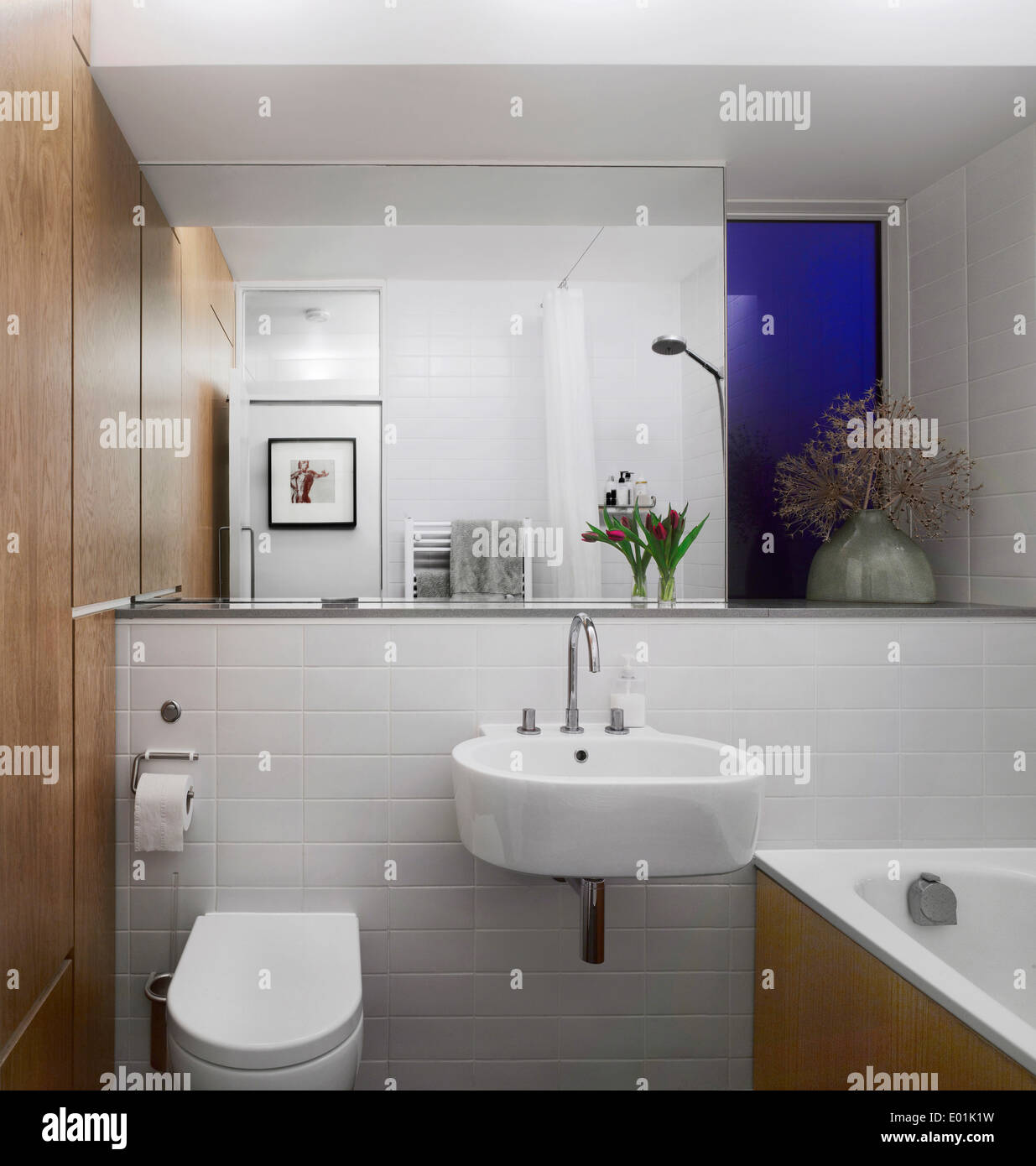 Bathroom in east dulwich london uk stock photo royalty for Bathroom builders east london