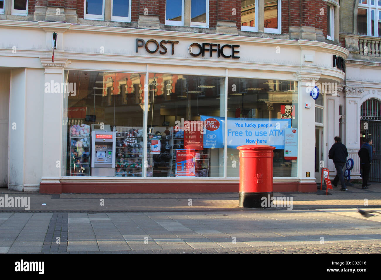 post office in boscombe bouremouth uk stock photo 68885410 alamy. Black Bedroom Furniture Sets. Home Design Ideas