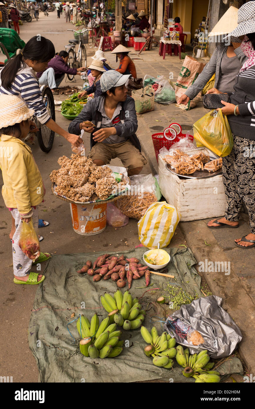 Stock Photo - Street Food market Hoi An Vietnam
