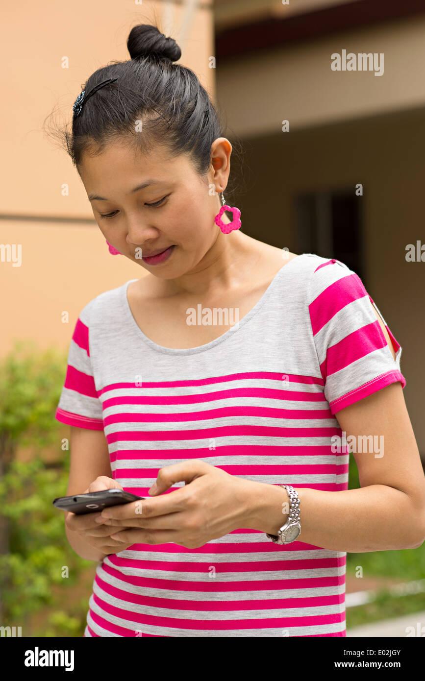 Asian Woman That She