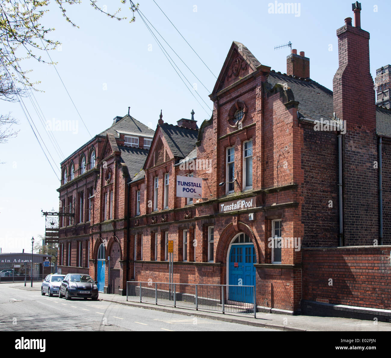 The Public Swimming Baths Of Tunstall Pool Stoke On Trent Staffs Stock Photo 68903149 Alamy