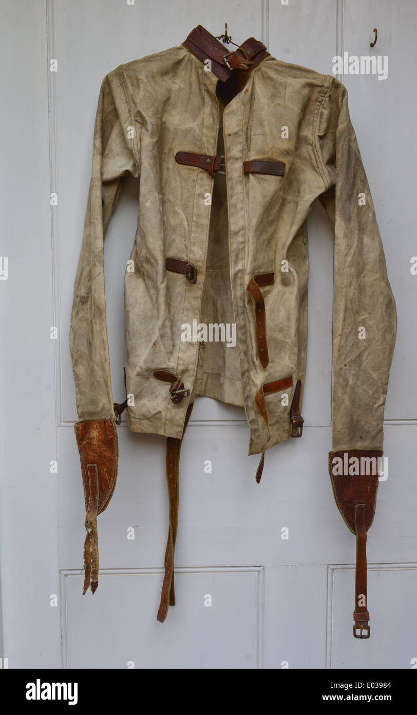 Straitjacket From Mental Asylum Circa 1900 Stock Photo, Royalty ...
