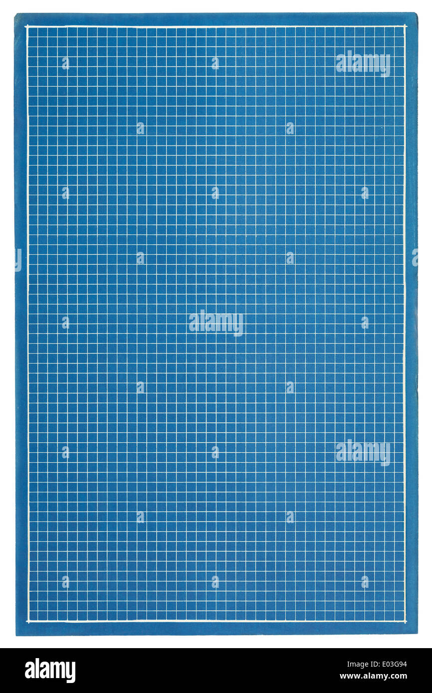 Single page of graphpaper blueprints with copy space stock photo single page of graphpaper blueprints with copy space malvernweather Choice Image