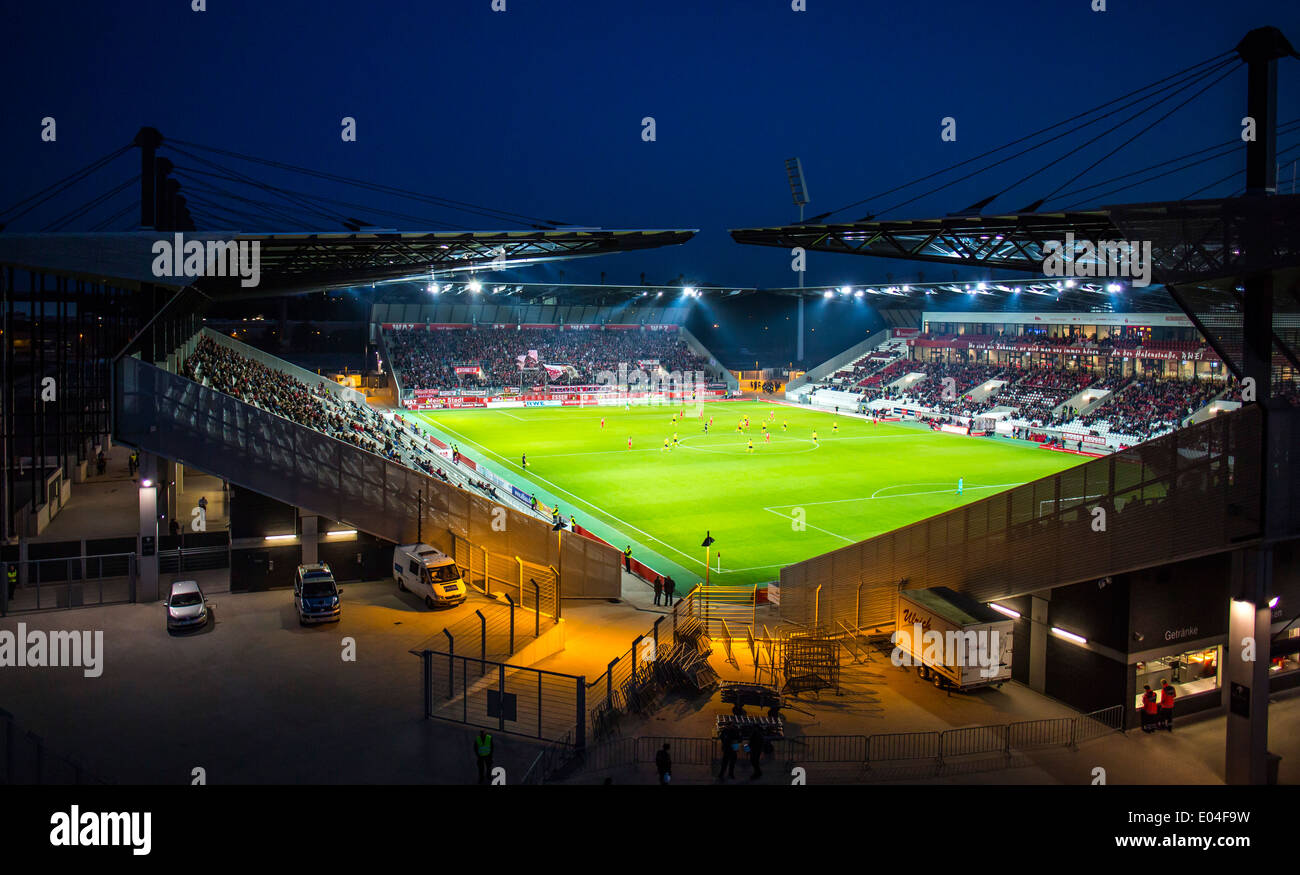 football soccer stadium of germany rot weiss essen soccer. Black Bedroom Furniture Sets. Home Design Ideas