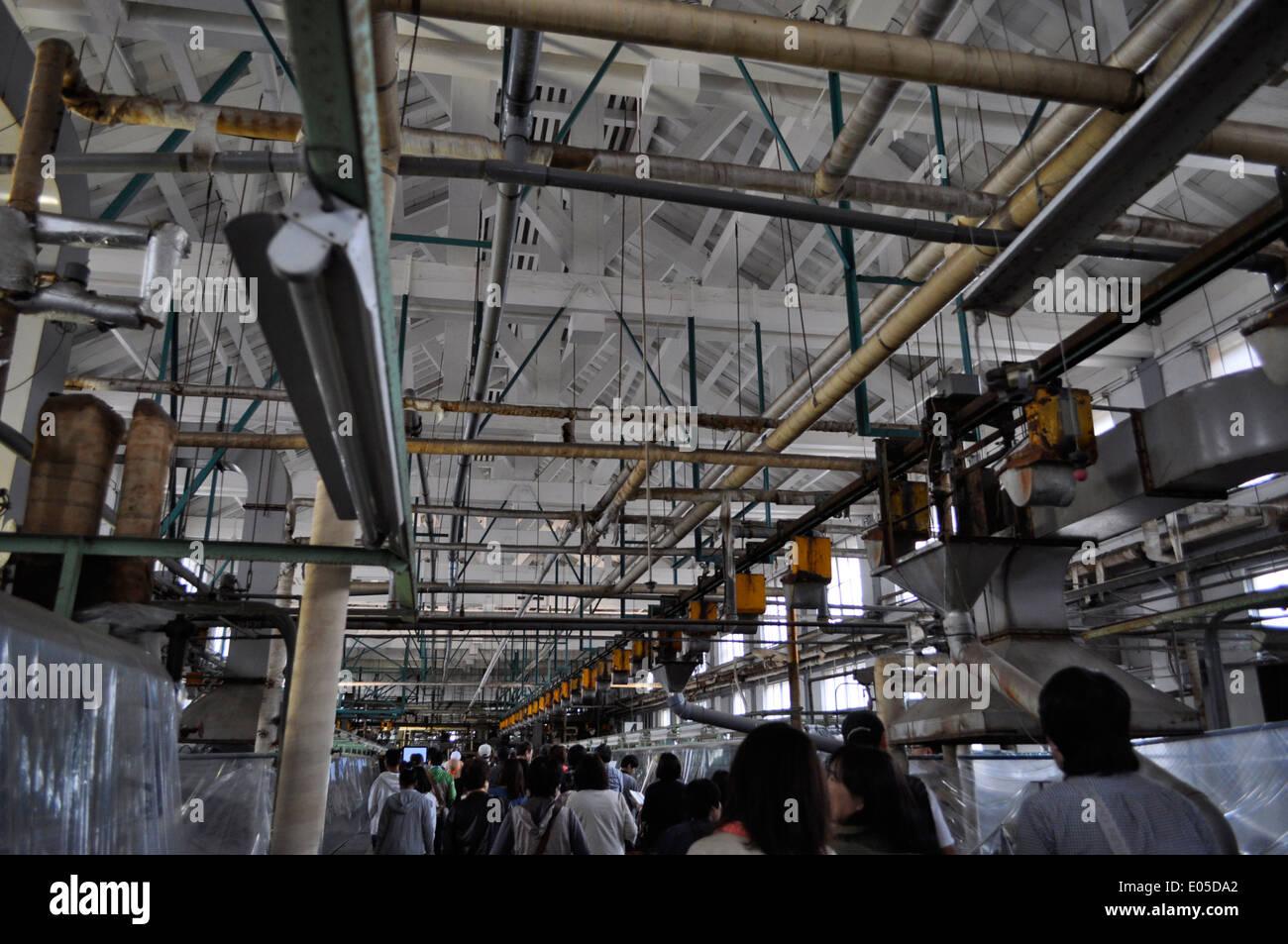Tomioka seishijo Tomioka Silk mill,Tomioka,Gunma,Japan Stock Photo, Royalty F...